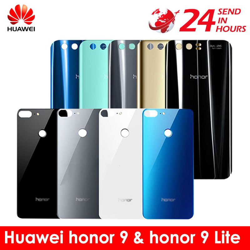 Housing-Case-Panel Honor9 Battery-Cover Glass-Cover-Replacement Back-Glass Huawei Rear