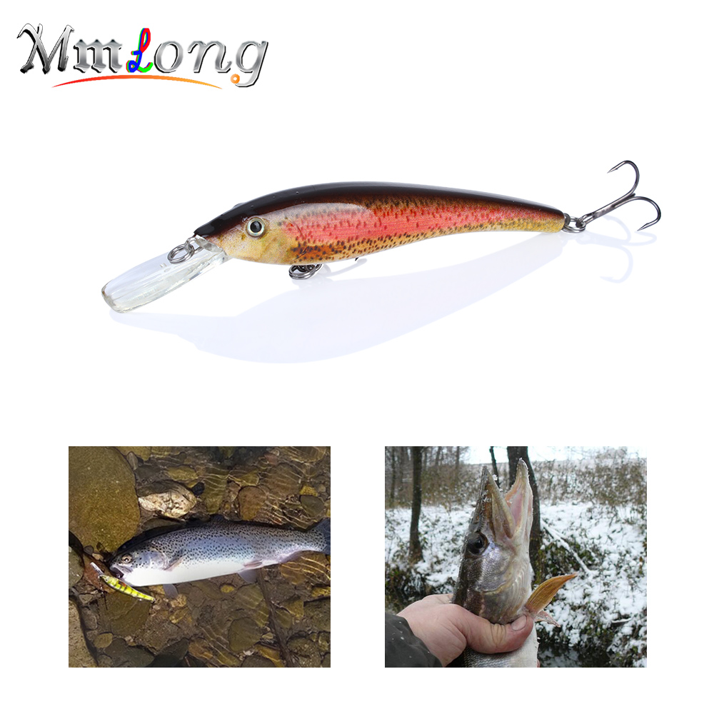 Mmlong 90MM Minnow Fishing Lure Crankbait MH02B 5.7g Bionic Hard Fish Crank Bait Swimbait 5 Color Fishing Wobbler Tackle Lures wldslure 1pc 54g minnow sea fishing crankbait bass hard bait tuna lures wobbler trolling lure treble hook