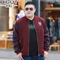 BIG GUY Plus Size 5XL 6XL 7XL 8XL Red Camouflage Casual Men Coat Men's Jackets And Coats 2017 Spring Autumn Men Clothes 1391 PZ3