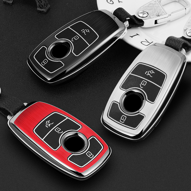 Low Cost Luminous Car Key Fob Case Protective Cover Black