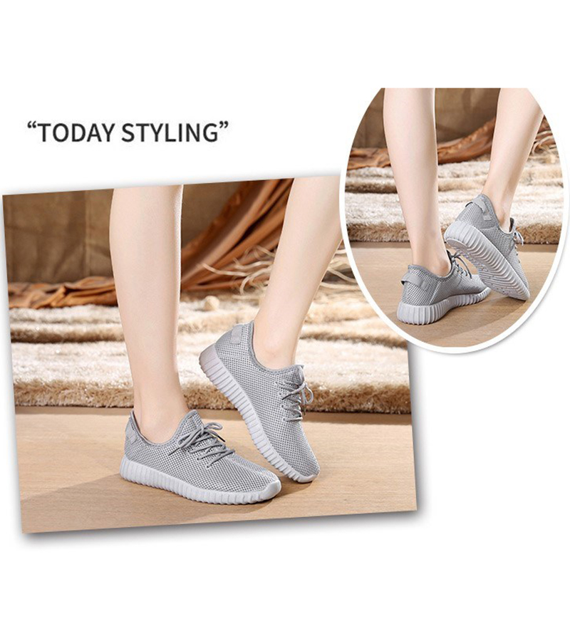 Mesh casual shoes women Breathable Lace Up white sneakers female soft lightweight summer flat Women Vulcanize Shoes 2019 VT243 (10)