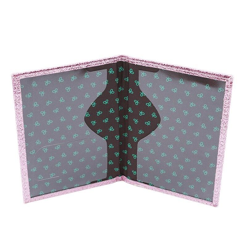 Роскошная однотонная Обложка для паспорта для женщин, чехол для паспорта, кожаный милый кошелек для паспорта, держатель для паспорта