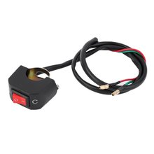 Universele Motorfiets Atv Bike Stuur Licht Op Off Kill Switch Knop Connector Hot Selling(China)