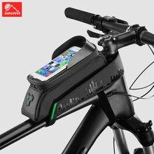 Waterproof Bicycle Bag Front Frame Top Tube Bike Bag Mobile Phone Case Holder 6