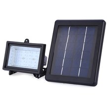 30 Led Solar Powered Spotlight Al Aire Libre Del Césped Del Paisaje de Inundación Solar Lámpara de Camping Llevó la Luz de Lámparas de Aluminio de resistencia al Agua