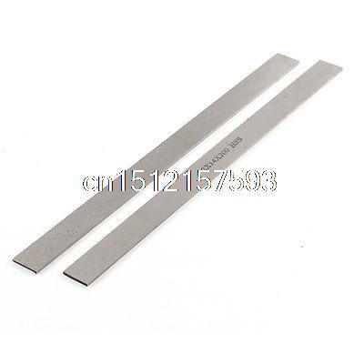 CNC Lathe HSS Square Bit Cutting Boring Bar Cutter Tool 2mmx14mmx200mm 2pcs 8x8mm length 500mm 6061 rectangular hss steel bar lathe tool cnc milling cutter