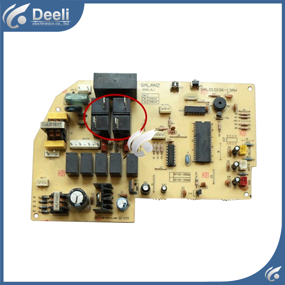 95% NEW for air conditioning computer board GAL0101GK-13AH PC control board used