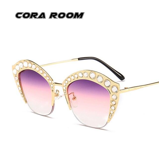 2e9f5218589a High-quality Diamond Polarized Sunglasses Women Brand Designer Personality  Progressive Ocean Sunglasses Men s Sunglasses