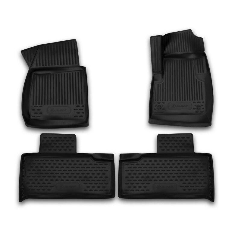 Car Mats 3D salon UAZ For Patriot Limited 3163 08/2005-2014, 3 PCs (polyurethane)