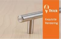 """как 4 """"~ 24' нержавеющая сталь диаметр ручки 10 мм кухня двери кафе т ru прямой бар тянуть ручки мейбл фурнитура"""