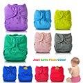 JinoBaby couche lavable pañales de tela pañales de un tamaño para los bebés recién nacidos hasta 17 KG (con inserción de bambú)