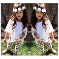 Baby Girl Clothes Sets 2016 Spring Autumn 18M-7T Cotton Kids Girl Clothing Long Sleeve Clothes For Children Girls Clothing Set