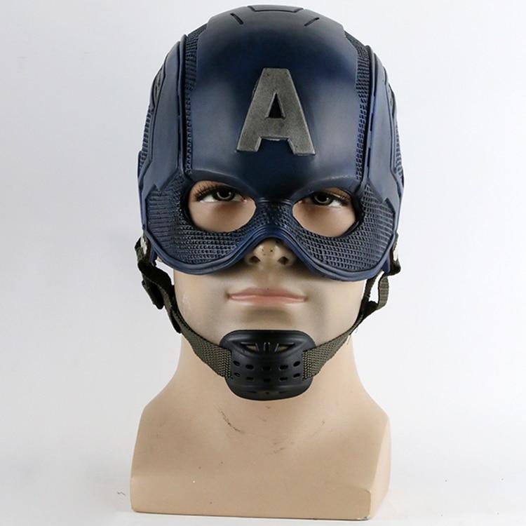 2016 фильм супергерой шлем Капитан Америка гражданская война шлем маска Косплэй Стивен Роджерс хэллоуин шлем для коллекции