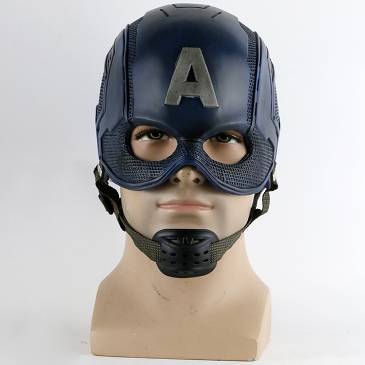 2016 Movie Superhero Hjelm Captain America Civil War Hjelm Mask Cosplay Steven Rogers Halloween Hjelm For Indsamling