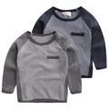 child t-shirt children's clothing spring and autumn 2016 child casual basic shirt baby long-sleeve T-shirt u768