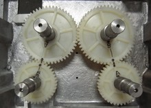 4 pcsfreeship electric orange juicer all spare parts gear for press big gear small gear orange juicing machine spare parts gears