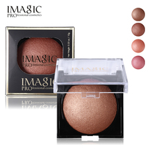 Bronzer Matte Shimmer Blush Palette Face Makeup Contouring Baked Cheek Powder Color Blusher PRO Paleta De IMAGIC Women Cosmetics