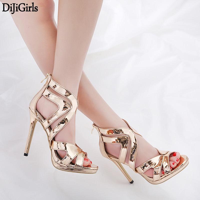 2a349cea8d23 2018 Hot Summer Shoes Woman Sandals Super High Thin Heels Buckle Strap Butterfly  Design Sandals Fashion ...