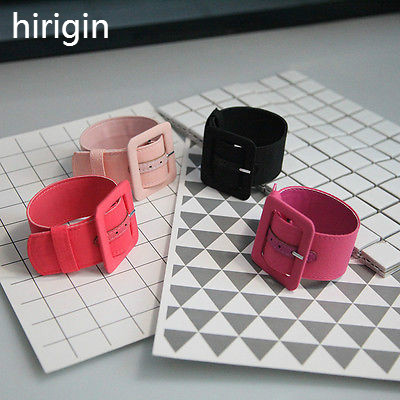 Women Girls Romantic Ribbon Square Anklets Ring Belts Metal Button Party Wear Apparel Accessories Women Rings Clothing