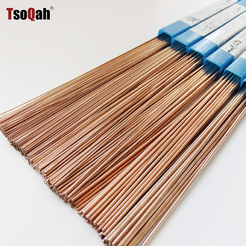 Silver Solder Brazing Copper Alloy Rod Stick With 5% Silver Welding Rods Electrode 1.0mm 1.5mm 2.0mm 2.5mm 3.0mm Low Temperature