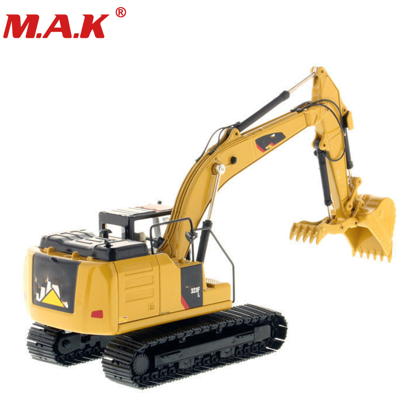 Collection Diecast BDM 1/50 323F L Hydraulic Excavator Diecast 85924 Engineering Vehicles Model rare hitachi zaxis 210 hydraulic excavator 1 40 scale diecast model
