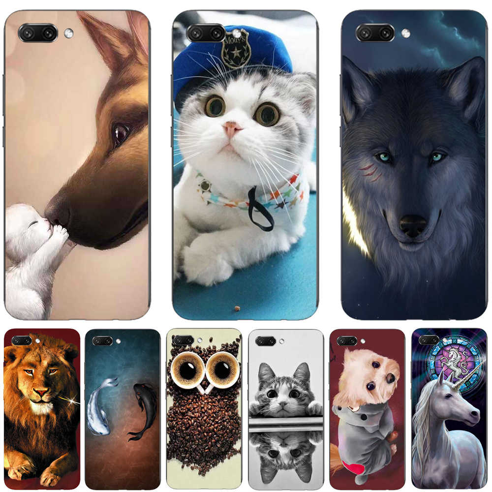 Silicon TPU Funda For Huawei Y6 2018 Case Cover For Huawei Y6 Prime 2018 Case Coque For Huawei Y6 Y 6 Prime 2018 Phone Case Capa