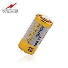 50pcs/box Wama New 10A 9V L1022 Alkaline Batteries for Garage Door Doorbell Remote Car Alarm Replace A23L 12V Battery Drop ship