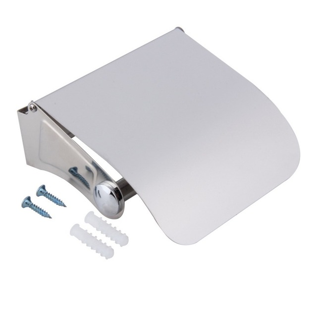 Bathroom Accessories Stainless Steel WC Toilet Paper Holder Tissue Holder Roll Paper Holder Box Storage Drop Shipping