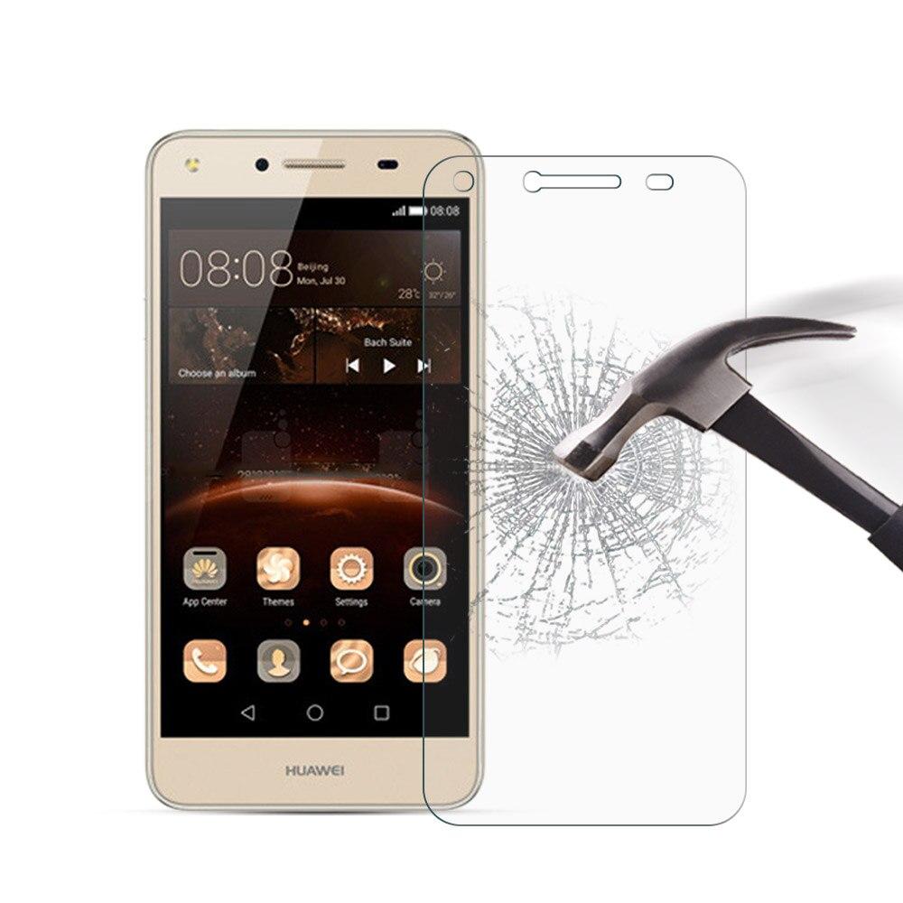 Закаленное Стекло для Huawei Y5 II случае 5.0 дюймов 2.5D 9 H Премиум Anti-Explosion Экран protecters для Huawei y5 II y5ii 2 протектор