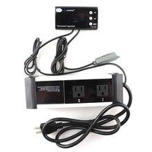 THC-220US 16 ~ 42C 110 В Цифровой Инкубатор Контроллер Температуры И Влажности для Теплиц