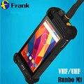 Оригинал Walkie talkie Runbo M1 DMR Телефон Водонепроницаемый Смартфон IP67 Quad Core Глонасс A-GPS NFC 2 ГБ Противоударный Телефон PTT УКВ