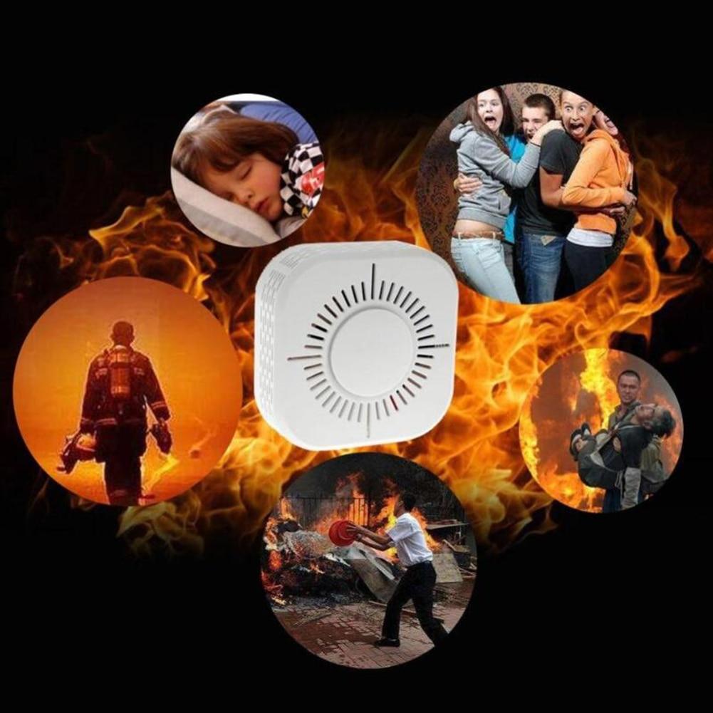 Portable Protection Wifi Home Safety Smoke Alarm Sensor 433MHz Wireless Smoke Detector