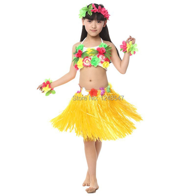 Free shipping children folk Dance dress girls waist dance grass pvc tassels skirt Hawaiian hula fashion  sc 1 st  AliExpress.com & Free shipping children folk Dance dress girls waist dance grass pvc ...