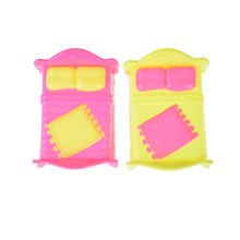 2019 Super Cute Doll Accessories Baby Bed for Small Kelly Dolls for Doll Girls Toy (Random Color) New(China)