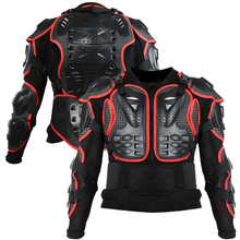 Motorcycle Full Body Armor Jacket Spine Chest Protection Gear Smart S-XL Jacket Motorcross Protector Motos Protetor Protector