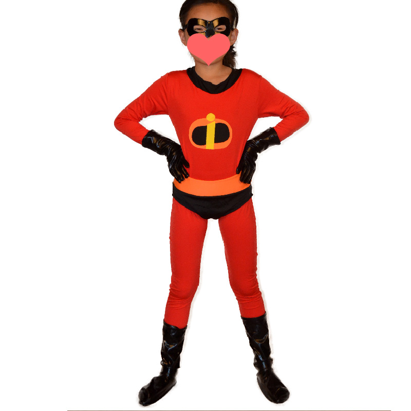 Big Girls Violet Incredible costume Halloween costumes for kids Children superHero Cosplay Lycra zentai bodysuit Custom-in Boys Costumes from Novelty ...  sc 1 st  AliExpress.com & Big Girls Violet Incredible costume Halloween costumes for kids ...