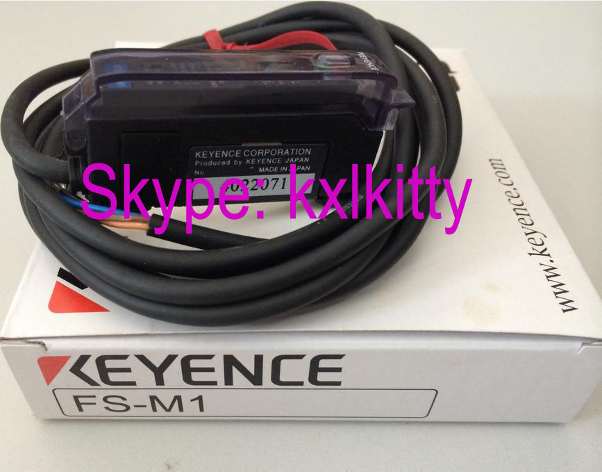 FS-M1  KEYENCE Optical fiber amplifier fs2 62 keyence fiber amplifier