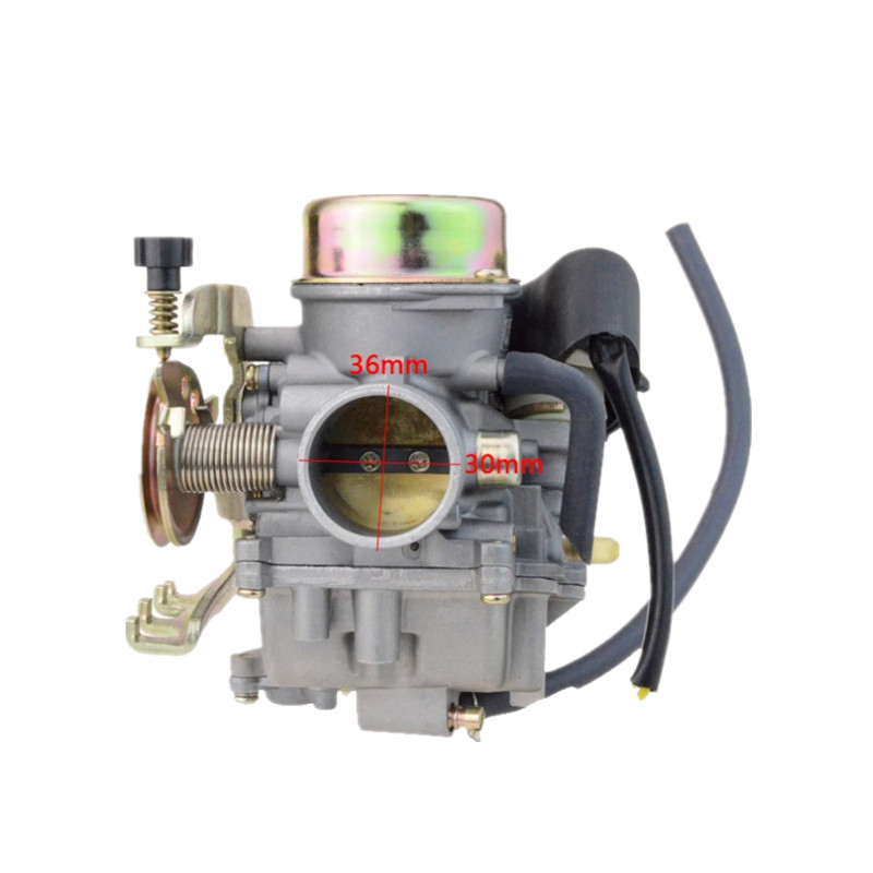 GOOFIT CVK30 Carburetor for Linhai 260 Scooter ATV Engine With Electric Heating Carburettor N090 138
