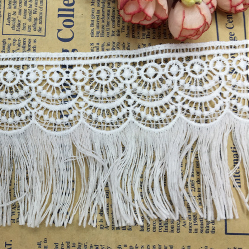 9x90cm-DIY-White-Embroidered-Lace-Fabric-Water-Soluble-Lace-Edge-Trim-Tassels-Craft-Cloth-for-Wedding (3)