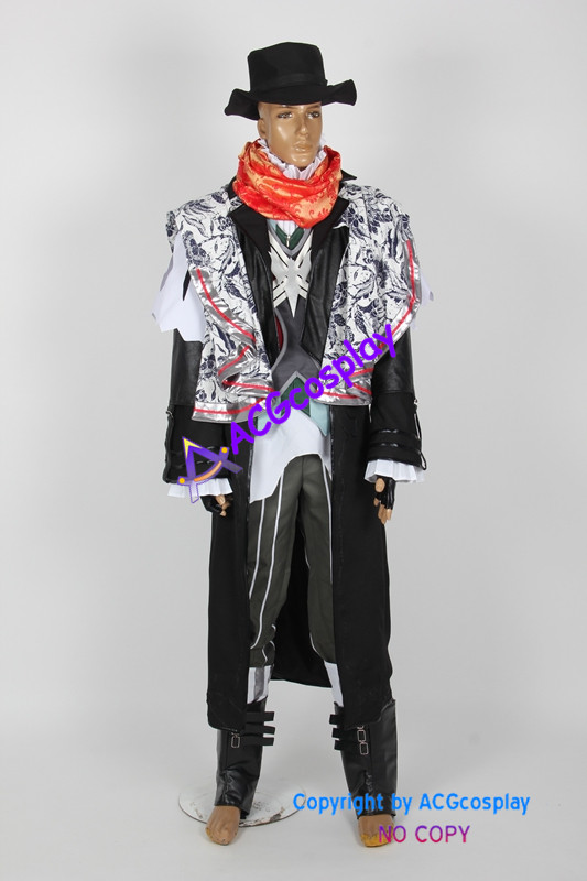 <font><b>Final</b></font> <font><b>Fantasy</b></font> <font><b>XV</b></font> <font><b>Ardyn</b></font> Izunia Costumes ACGcosplay include hat image