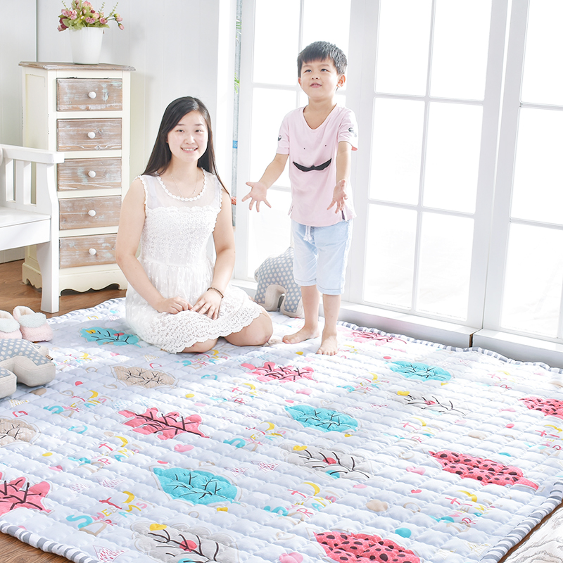 Infant Shining Tatami Play Mat Cotton Rugs Kid's Puzzle Exercise Blanket Living Room Bedrooms Carpet Hand Wash Machine Washable diaidi modern oriental area rug rectangle rug carpet washable soft rugs living room rug carpets for living room rugs and carpets for home living room kitchen rugs
