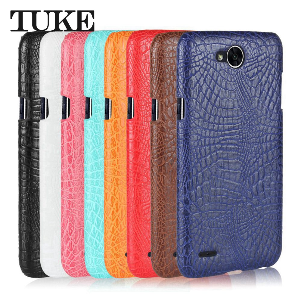 release date 78e42 713c1 TUKE Crocodile Pattern Case for LG X Power 2 Hard PC Back Cover For LG X  Power2 M320 Leather Coque for LG Power X2 Carcasa Etui-in Fitted Cases from  ...
