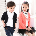 Girls Cardigan Cotton Knitted Sweaters Unisex Full Sleeves Single Breasted Sweater Spring/Autumn Cotton Children Fashion Clothes