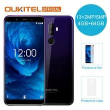 "OUKITEL U25 Pro 5,"" FHD MTK6750T Восьмиядерный мобильный телефон 4 ГБ ОЗУ 64 Гб ПЗУ Android 8,1 двойная камера отпечаток пальца 4G LTE смартфон"
