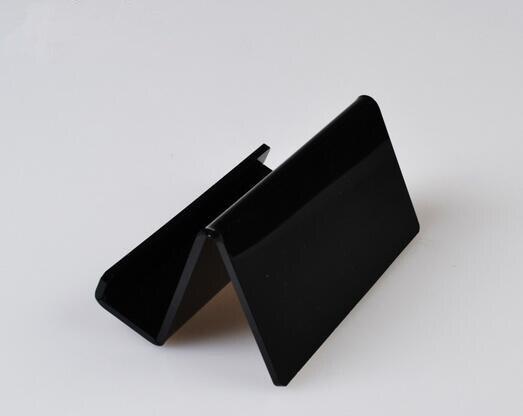 Acryl Namenskartenhalter Desktop Stand Telefonhalter Display Rack - Home Storage und Organisation - Foto 2