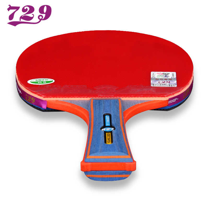 Friendship 729 Table Tennis Bat Table Tennis Racket Finished Ping Pong Offensive Rackets