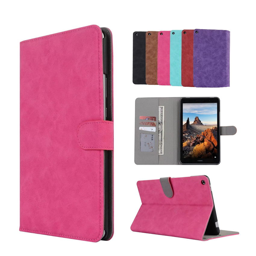 MediaPad T3 8.0 KOB-L09 KOB-W09 PU Leather Case Cover Slim Tablet Wallet Smart Fundas For Huawei T3 8 inch Protective Stand Skin mediapad t3 8 0 kob l09 kob w09 pu leather case cover slim fundas for huawei honor play pad 2 8 inch tablet pc stand shell skin