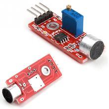 Venda quente do Microfone Módulo Amplificador de Microfone de Alta Qualidade AVR PIC de Alta Sensibilidade do Sensor de Detecção De Som Módulo Acessório #2