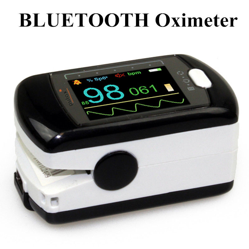 CMS50EW Bluetooth Wireless Finger tip pulse oximeter Blood Oxygen Saturation Monitor CMS50EW With USB Software OLED Screen масло domix green professional grape nail oil 17 мл