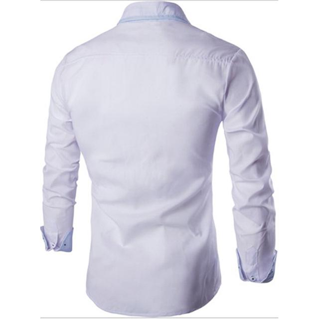 Casual Shirts Men Long Sleeve